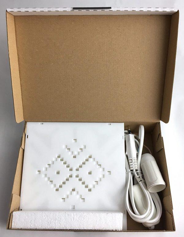 X stitch design asztali lámpa csomag