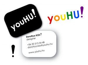 YouHU! arculat tervezés